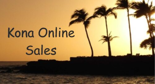 Kona Online Golf Sales