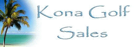 Kona Golf Sales